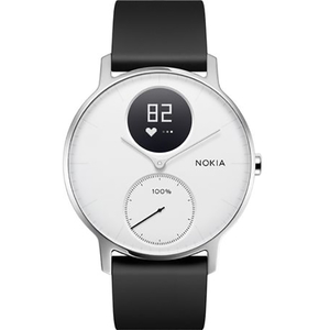 Smartwatch NOKIA Steel HR 36mm, Android/iOS, silicon, alb