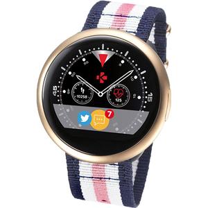 Smartwatch MYKRONOZ ZeRound2HR Premium Nato Band, Android/iOS, auriu