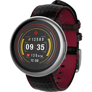 Smartwatch MYKRONOZ ZeRound2HR Premium Silver Carbon Band, Android/iOS, Argintiu