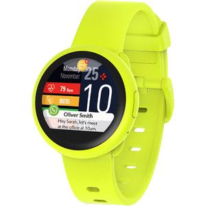 Smartwatch MYKRONOZ ZeRound3 Lite, Android/iOS, silicon, galben