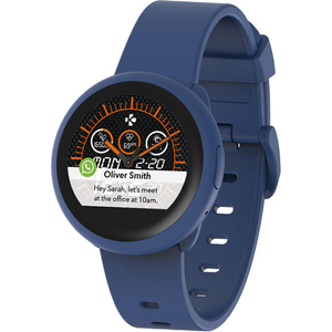 Smartwatch MYKRONOZ ZeRound3 Lite, Android/iOS, silicon, albastru