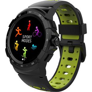 Smartwatch MYKRONOZ ZeSport2, Android/iOS, silicon, negru/galben