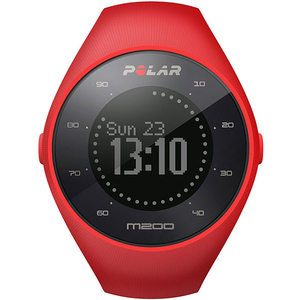 Smartwatch POLAR M200 Android.iOS, silicon, Medium/Large, Red