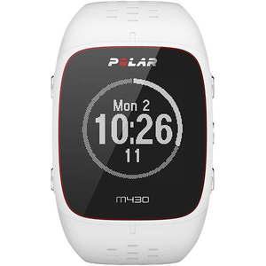 Smartwatch POLAR M430 Android/iOS, silicon, Large, White