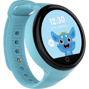 Smartwatch pentru copii MYRIA MY9515BL, Android, silicon, albastru