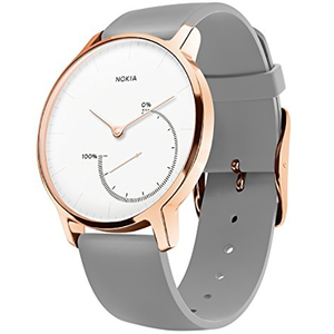 Smartwatch NOKIA Steel Special Edition, Android/iOS, silicon, pink gold