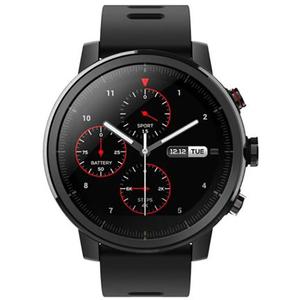 Smartwatch XIAOMI AmazFit Stratos, Android/iOS, silicon, negru