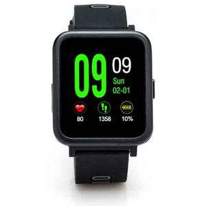 Smartwatch E-BODA Smart Time 350, Android/iOS, silicon, negru