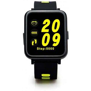 Smartwatch E-BODA Smart Time 350, Android/iOS, silicon, verde