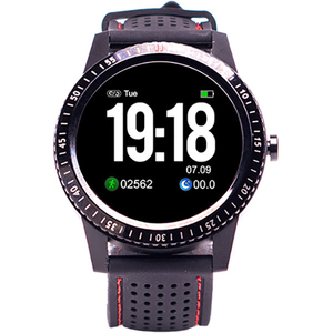 Smartwatch E-BODA Smart Time 360, Android/iOS, silicon, negru