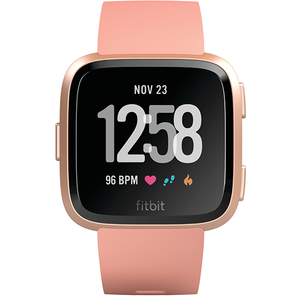 Smartwatch FITBIT Versa, Android/iOS, silicon, Rose Gold
