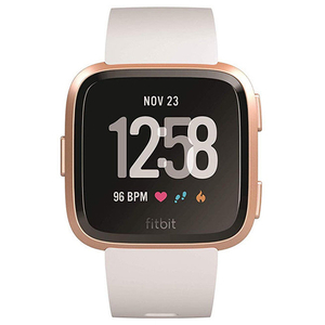 Smartwatch FITBIT Versa Android/iOS, silicon, White/Rose
