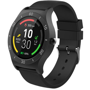 Smartwatch EVOLIO X- Watch 4 Android, silicon, negru