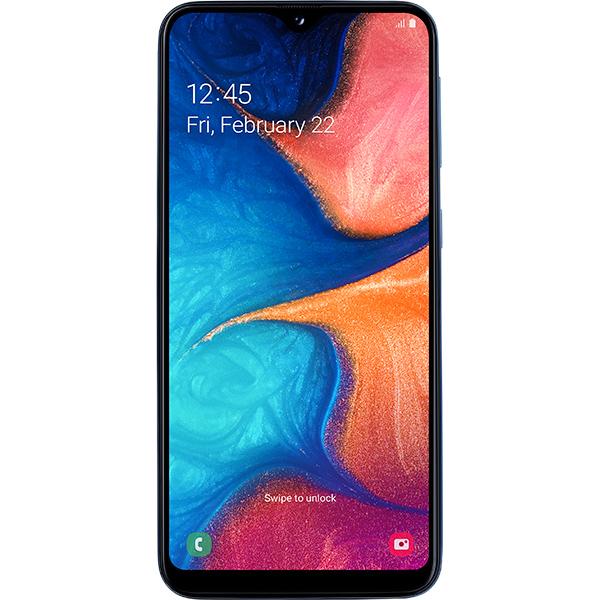 SAMSUNG Galaxy A20e, 32GB, 3GB RAM, Dual SIM, Blue