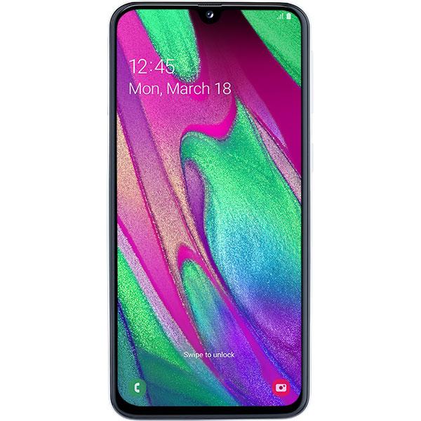 Telefon SAMSUNG Galaxy A40, 64GB, 4GB RAM, Dual SIM, White