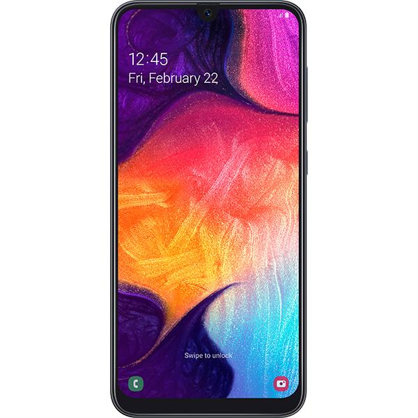 Telefon SAMSUNG Galaxy A50, 128GB, 4GB RAM, Dual SIM, Black