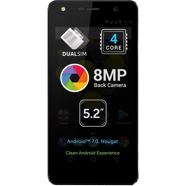 Telefon ALLVIEW A9 Lite, Dual SIM, 8GB, 3G, Black