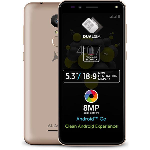 Telefon ALLVIEW A9 Plus 8GB Dual Sim, Gold