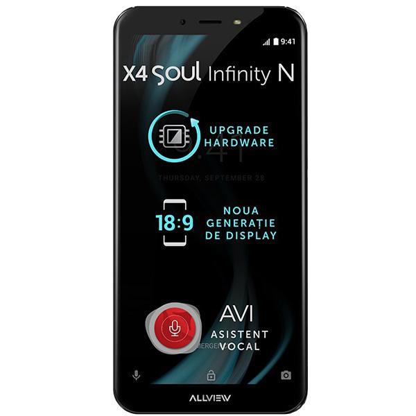 Telefon ALLVIEW X4 Soul Infinity N, 32GB, 4GB RAM, Dual SIM, Mocha Gold