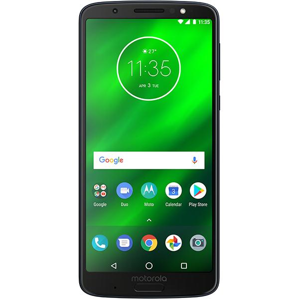 Telefon MOTOROLA Moto G6 Plus, 64GB, 4GB RAM, Dual SIM, Deep Indigo
