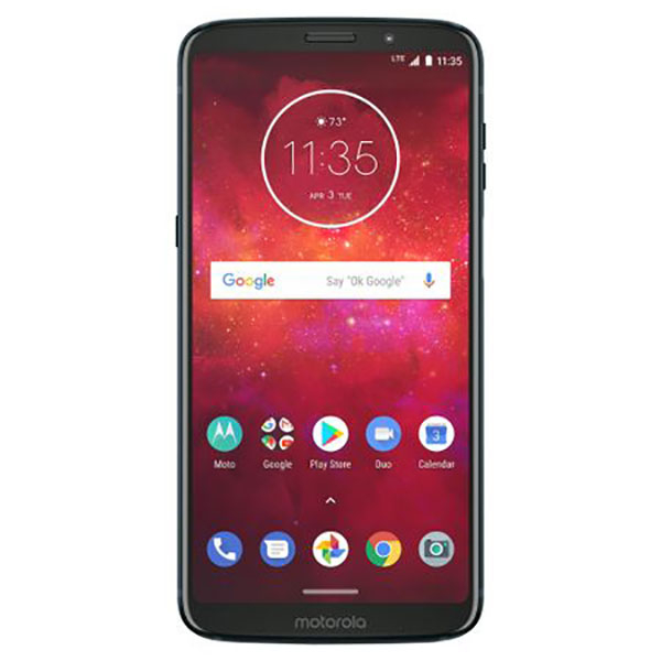 Telefon MOTOROLA Moto Z3 Play, 64GB, 4GB RAM, Dual SIM, Deep Indigo
