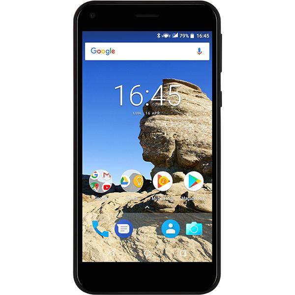 Telefon MYRIA Compact E2 Plus, 16GB, 2GB RAM, Single SIM, Black
