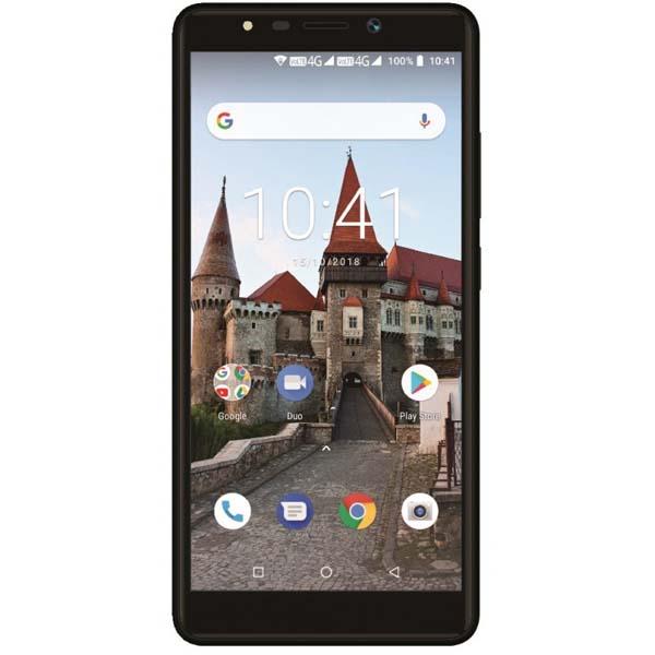 Telefon MYRIA MY9077 L550, 16GB, 2GB RAM, Dual SIM, Black
