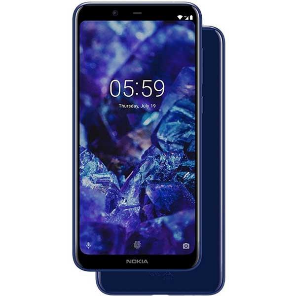 Telefon NOKIA 5.1 Plus 32 GB, 3GB RAM, Dual SIM, Blue
