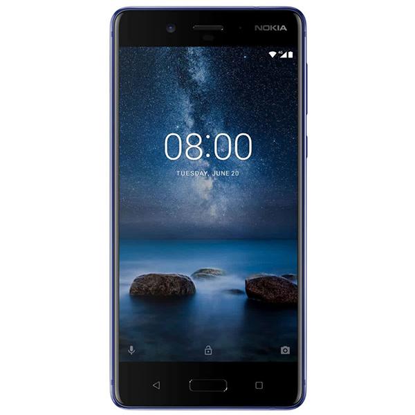 Telefon NOKIA 8, 64GB, 4GB RAM, dual sim, Tempered Blue