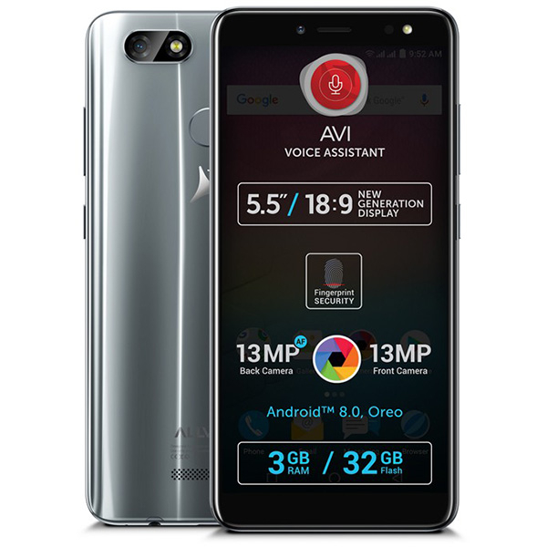 Telefon ALLVIEW V3 Viper, 32GB, 3GB RAM, Dual SIM, Grey