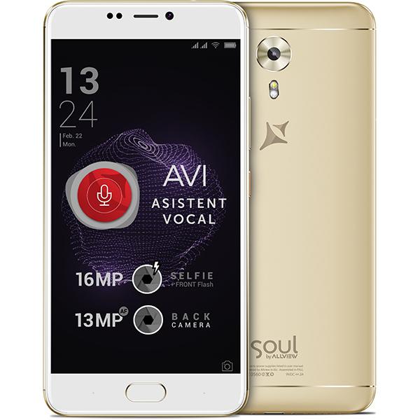 Telefon ALLVIEW X4 Soul Style 64GB, 4GB RAM, dual sim, Gold