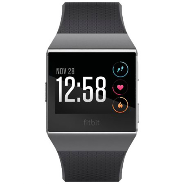 Smartwatch FITBIT Ionic FB503GYBK-EU, Android/iOS, silicon, Charcoal Smoke Gray