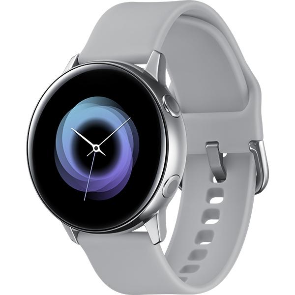 Smartwatch SAMSUNG Galaxy Watch Active, Android/iOS, silicon, Silver