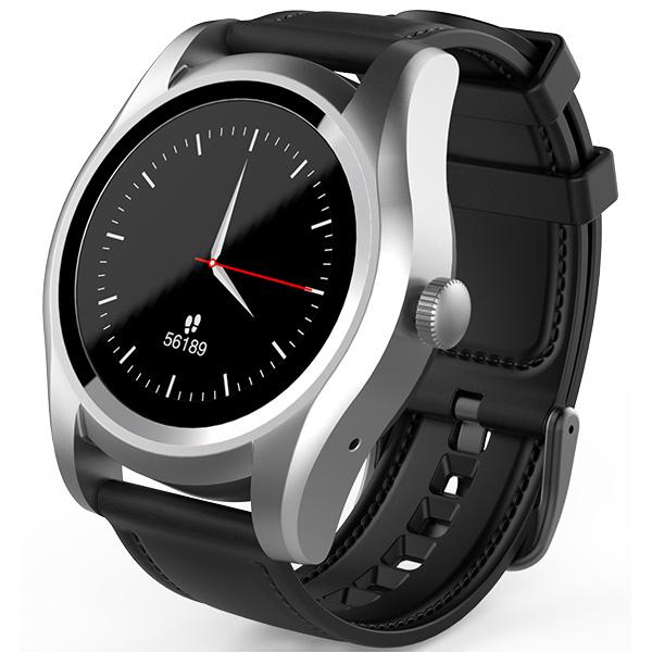 Smartwatch MYRIA Connect 2 MY9505, Android/iOS, Argintiu