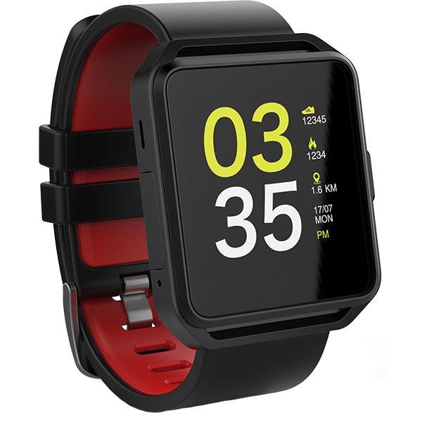 Smartwatch MYRIA MY9513BK, Android/iOS, Negru