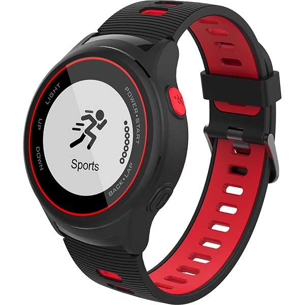 Smartwatch MYRIA MY9518RD, Android/iOS, silicon, rosu