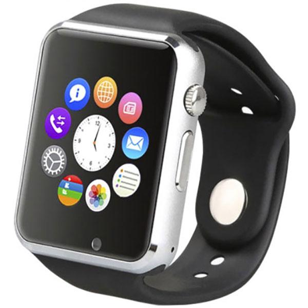 Smartwatch E-BODA Smart Time 300, Android/iOS, negru