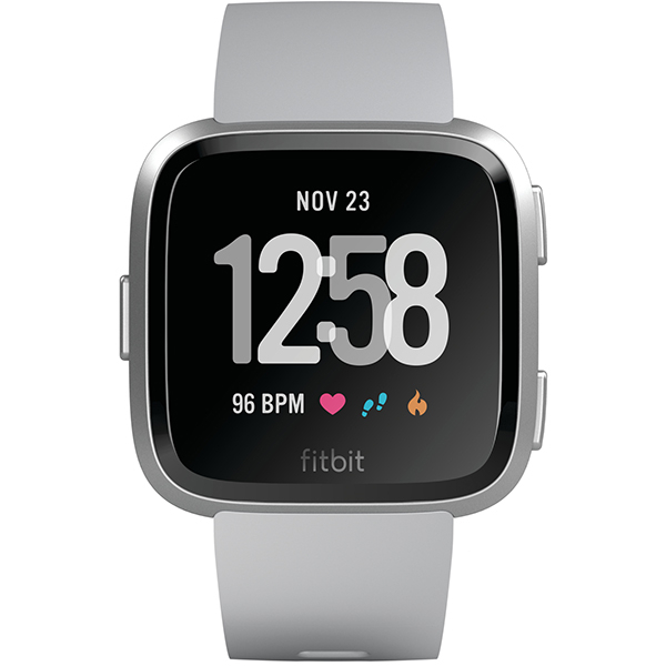 Smartwatch FITBIT Versa, Android/iOS, silicon, Silver