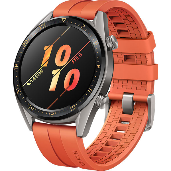 Smartwatch HUAWEI Watch GT, Android/iOS, silicon, orange