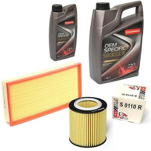 Pachet schimb ulei CHAMPION BMW Seria 3 2.0, 2012-Prezent, 116-218CP