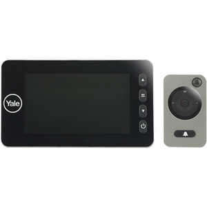 "Vizor electronic YALE DDV5800, Senzor miscare, Inregistrare video si foto, LCD 4.3"", 4 x AA, negru"