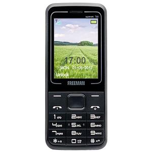 Telefon mobil E-BODA FREEMAN SPEAK T202, 32MB RAM, 2G, dual sim, Negru