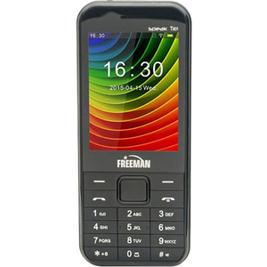 Telefon E-BODA FREEMAN SPEAK T301, 32MB RAM, 2G, Dual SIM, Black