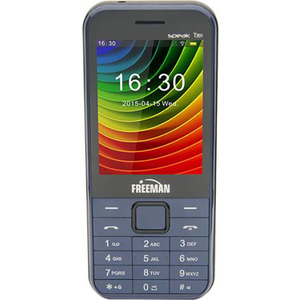 Telefon E-BODA FREEMAN SPEAK T301, 32MB RAM, 2G, Dual SIM, Blue