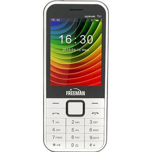 Telefon mobil E-BODA FREEMAN SPEAK T301, 32MB RAM, 2G, dual sim, Alb