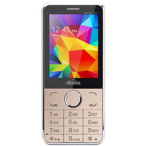 Telefon mobil E-BODA FREEMAN SPEAK T303, 32MB RAM, 2G, dual sim, Auriu