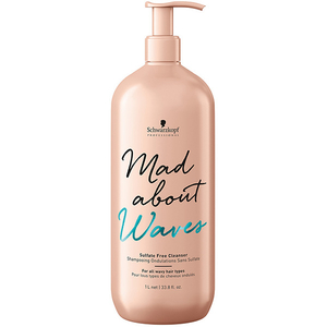 Sampon SCHWARZKOPF Mad About Waves Sulfate Free Cleanser, 1000ml