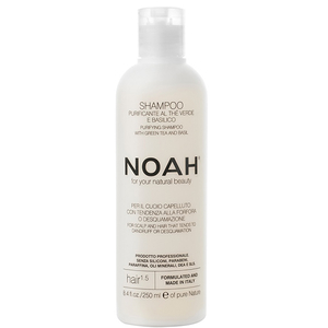 Sampon natural purifiant cu ceai verde NOAH, 250ml