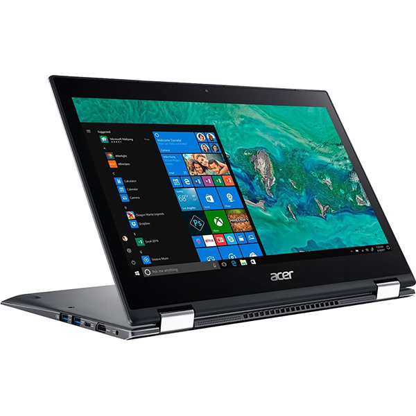 "Laptop 2 in 1 ACER Spin 5 SP513-53N-74MJ, Intel® Core™ i7-8565U pana la 4.6GHz, 13.3"" Full HD Touch, 8GB, SSD 512GB,  Intel® UHD Graphics 620, Windows 10 Pro"