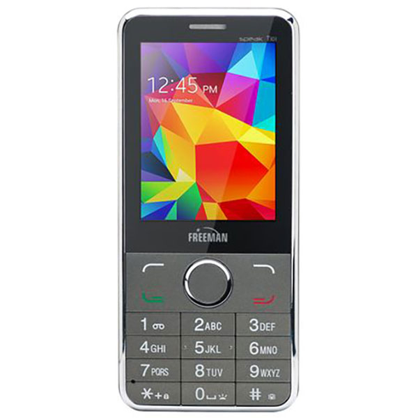 Telefon mobil Dual Sim FREEMAN SPEAK T303 E-BODA, Negru